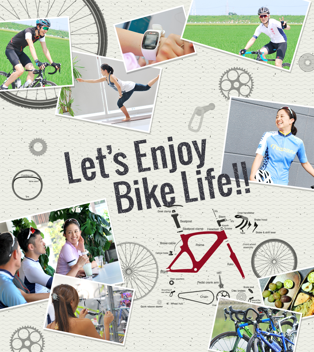Let's Enjoy Bike Life!!