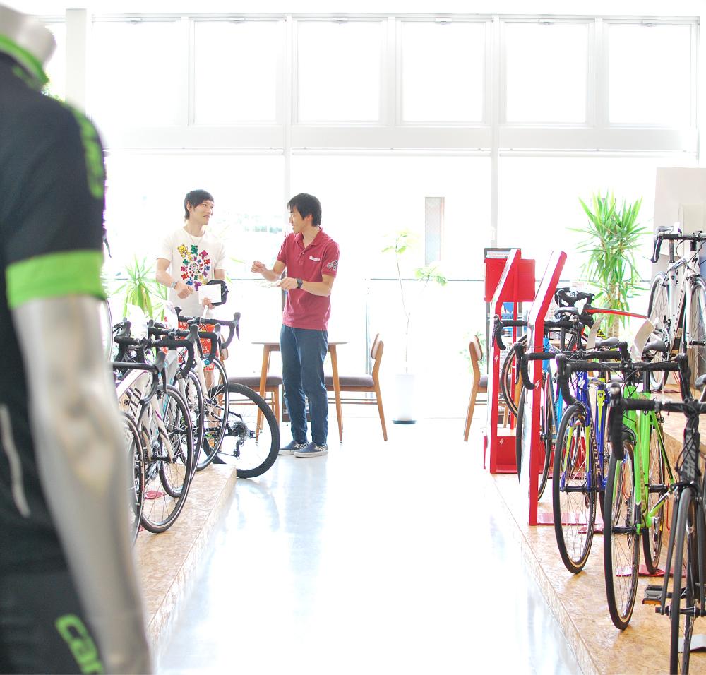 WHAT IS NICE? B-shop OCHI 自転車LIFEをスタートするなら私たちにお任せください。