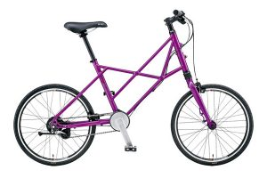 BRS-700 SV 2015 BE・ALL PURPLE 小径自転車