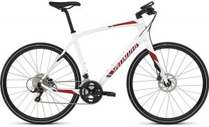 SIRRUS ELITE CARBON DISC 2016 White / Red / Charcoal SPECIALIZED クロスバイク