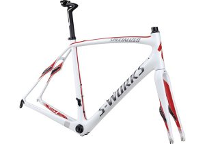 S-WORKS ROUBAIX SL4 FRAMESET 2013 White/Charcoal/Red SPECIALIZED ロードフレーム