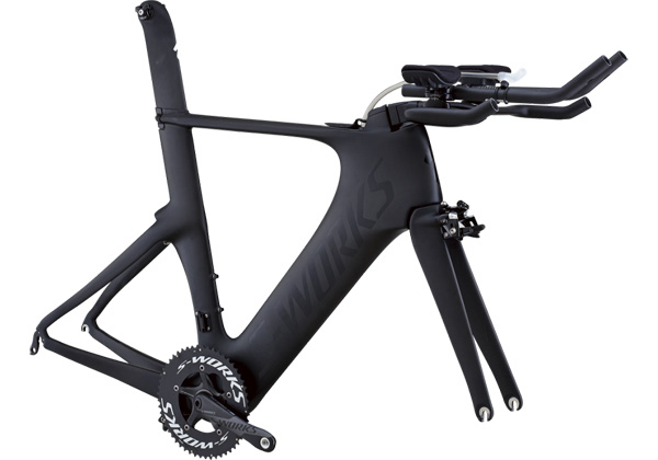 S-WORKS SHIV MODLUE 2013 Satin Carbon/Black SPECIALIZED ロードフレーム