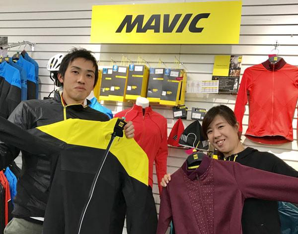 MAVICサイクリングアパレル
