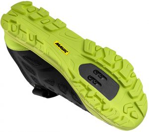 MAVIC CROSS RID SHOES BLK-YELL 3