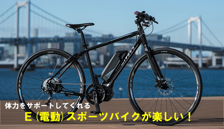 E-BIKE、MIYATA CRUISE