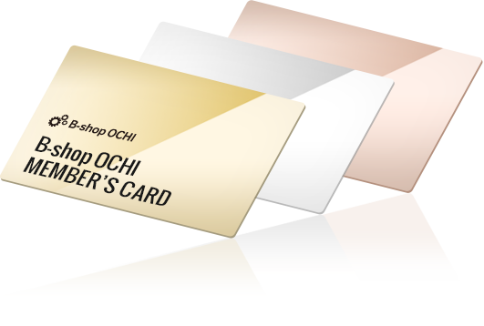 B-shop OCHI  MEMBER'S CARD