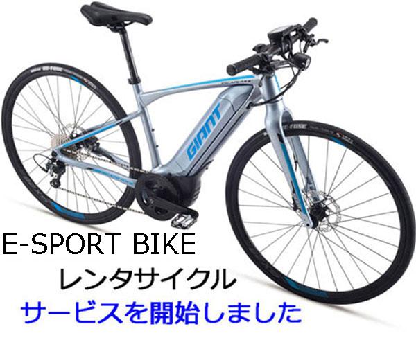 E-Bikeレンタサイクル1